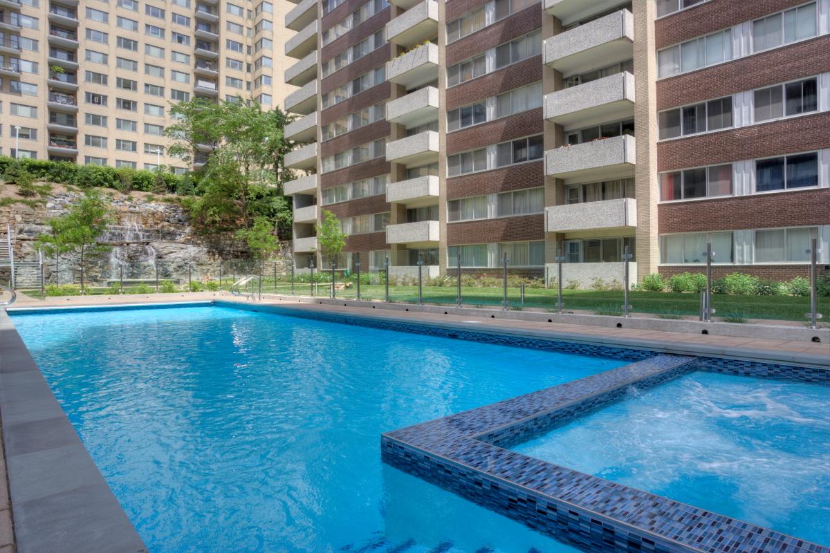 Appartement 1 chambre de luxe à Louer à Montréal (Centre ...