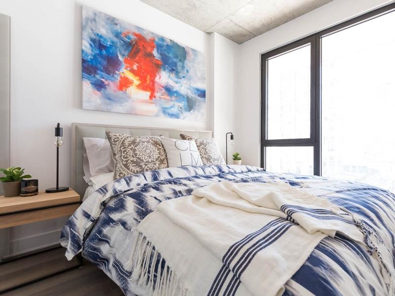 Appartement Studio / Bachelor de luxe a louer à Montréal (Centre-Ville) a Appartements-Boutique - Photo 01 - TrouveUnAppart – L136675
