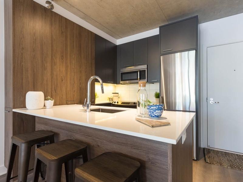 Appartement Studio / Bachelor de luxe a louer à Montréal (Centre-Ville) a Appartements-Boutique - Photo 02 - TrouveUnAppart – L136675