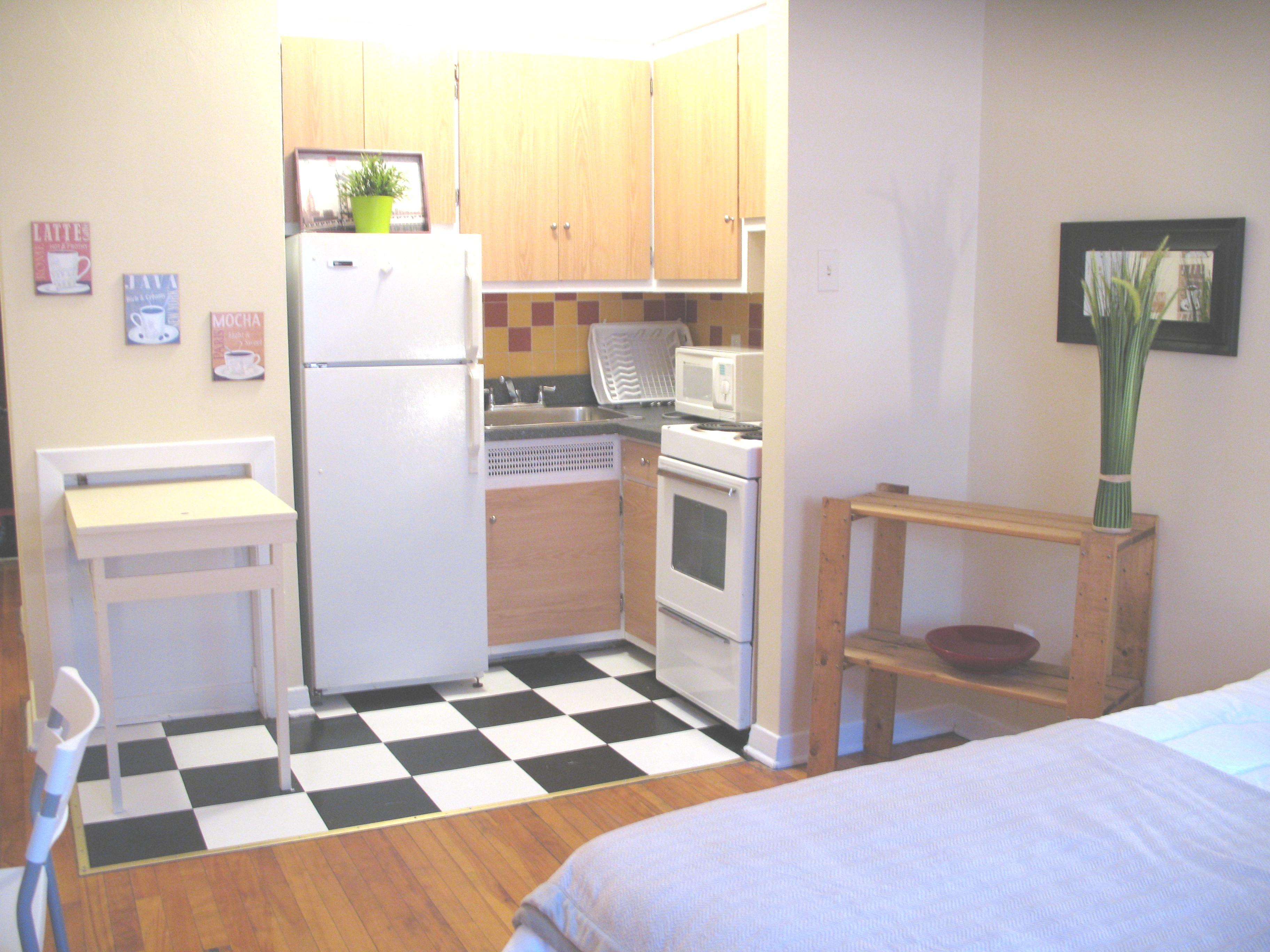 Appartement Studio / Bachelor meublé a louer à Côte-des-Neiges a CDN - Photo 06 - TrouveUnAppart – L8139