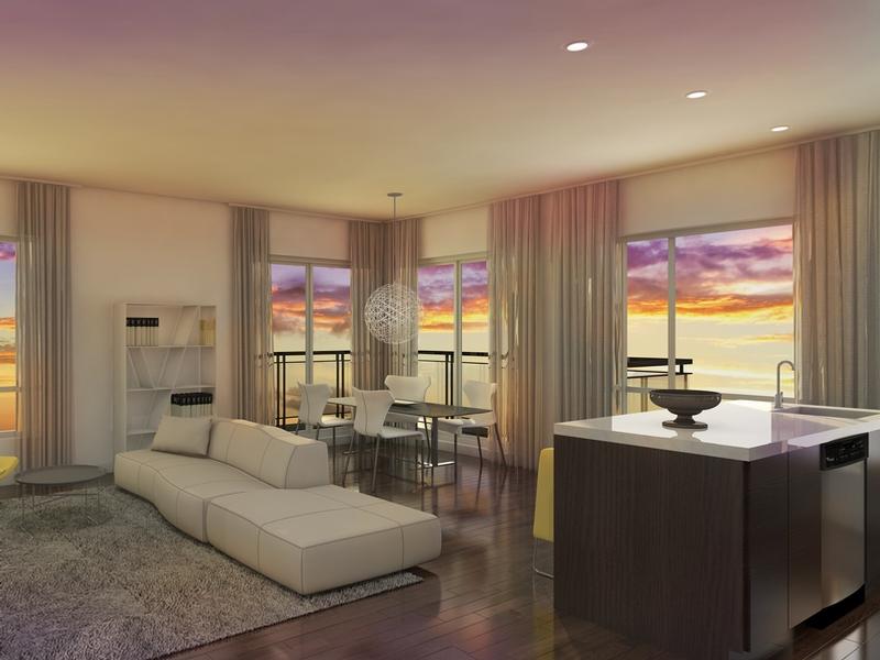 Appartement 2 Chambres de luxe a louer à Pointe-Claire a H1 Harmonie Urbaine - Photo 03 - TrouveUnAppart – L323427