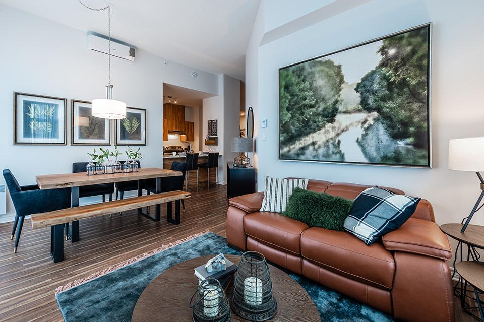 Appartement 2 Chambres de luxe a louer à Pointe-Claire a La Voile Pointe-Claire - Photo 02 - TrouveUnAppart – L403117