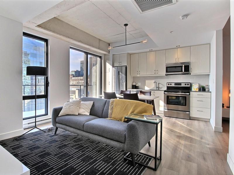 Appartement 1 Chambre a louer à Montréal (Centre-Ville) a Le Saint M2 - Photo 02 - TrouveUnAppart – L295572