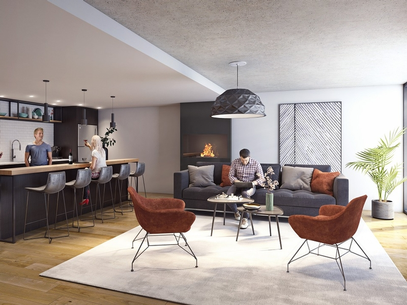 Appartement 1 Chambre a louer à Montréal (Centre-Ville) a Unicité - Photo 04 - TrouveUnAppart – L401589