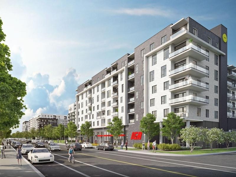 Appartement 1 Chambre a louer à Montréal (Centre-Ville) a Unicité - Photo 01 - TrouveUnAppart – L401589