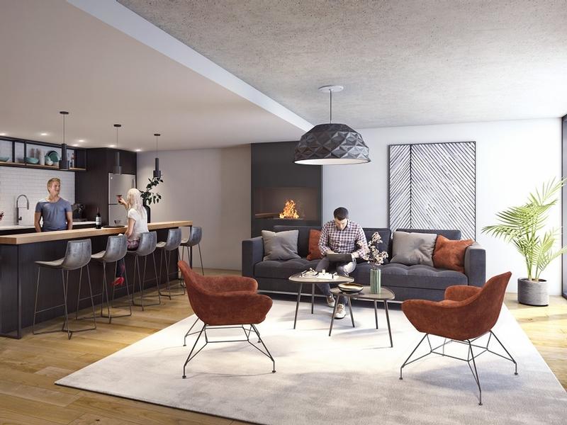 Appartement 2 Chambres a louer à Montréal (Centre-Ville) a Unicité - Photo 04 - TrouveUnAppart – L401590