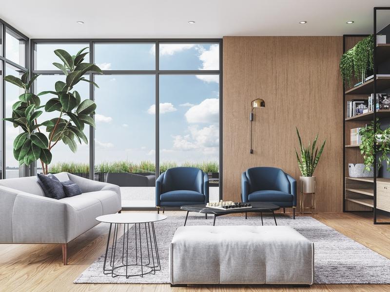 Appartement Studio / Bachelor a louer à Ville St-Laurent - Bois-Franc a Vita - Photo 02 - TrouveUnAppart – L405441