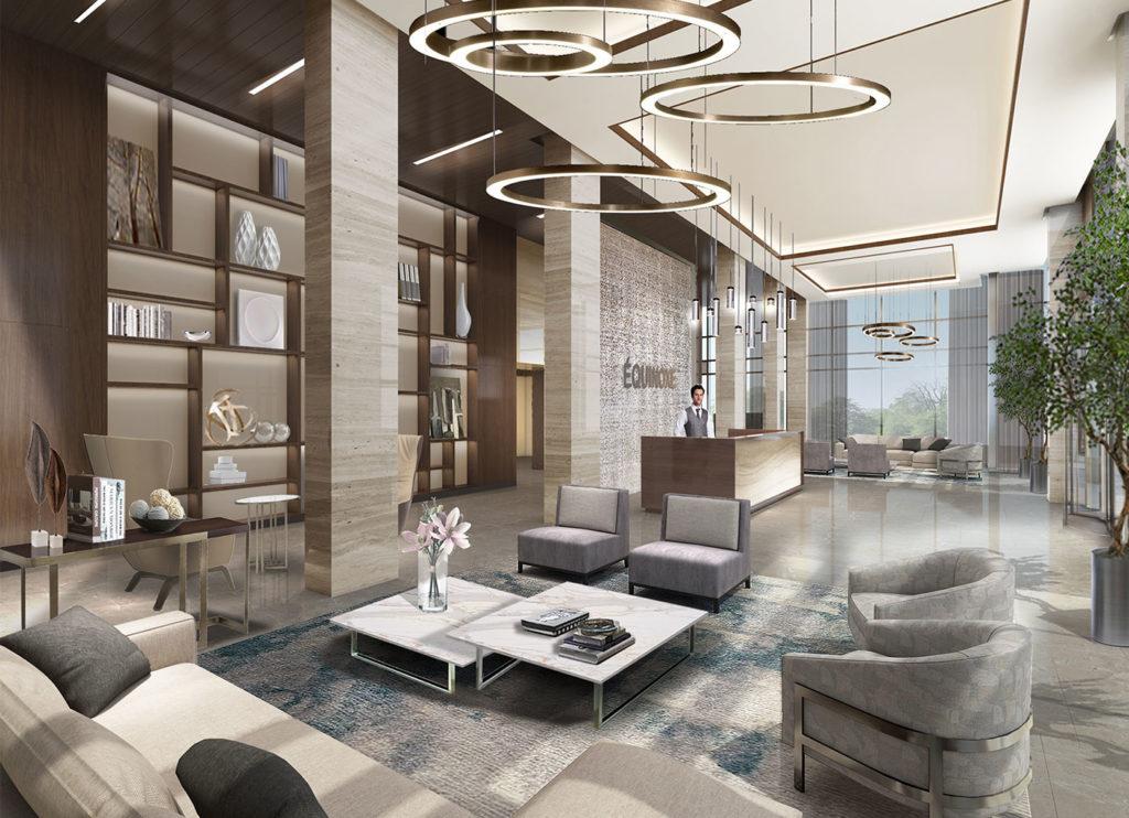 Condo 2 Chambres de luxe a louer à Laval a Collection Equinoxe - Levesque - Photo 03 - TrouveUnAppart – L351127