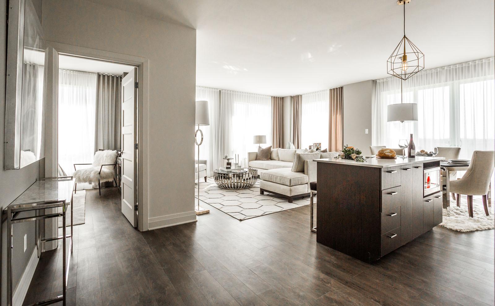 Condo 2 Chambres de luxe a louer à Laval a Collection Equinoxe - Levesque - Photo 12 - TrouveUnAppart – L351128