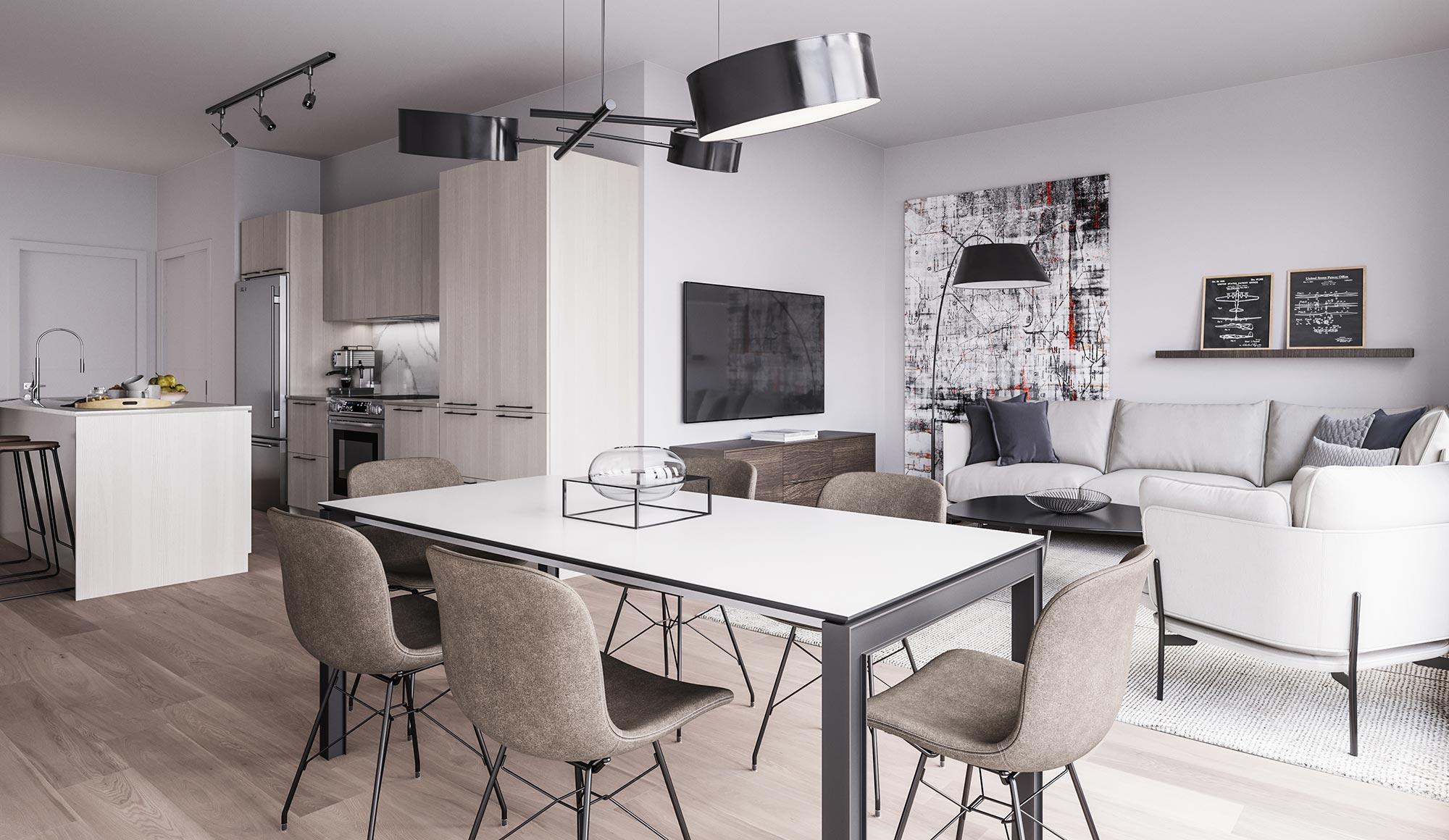 Appartement 2 Chambres a louer à Laval a 1625 Boulevard Daniel-Johnson - Photo 04 - TrouveUnAppart – L285423