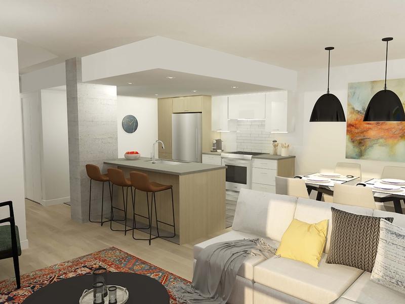 Appartement 1 Chambre a louer à Laval a Allure sur le Golf - Photo 04 - TrouveUnAppart – L401572