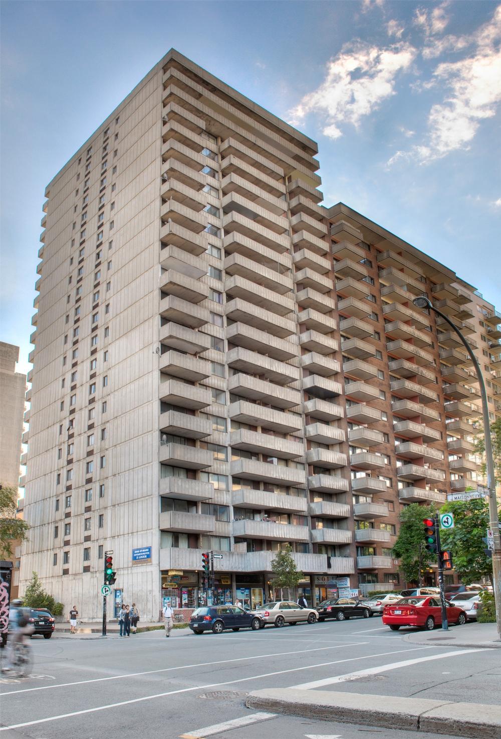 Appartement Studio / Bachelor a louer à Montréal (Centre-Ville) a Le St-Marc - Photo 03 - TrouveUnAppart – L9536