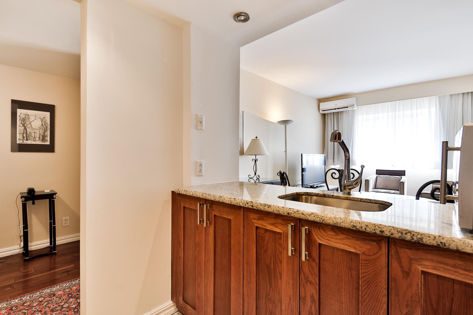 Appartement 1 Chambre de luxe a louer à Ville Mont-Royal a 2445 Chemin Sunset - Photo 05 - TrouveUnAppart – L397617