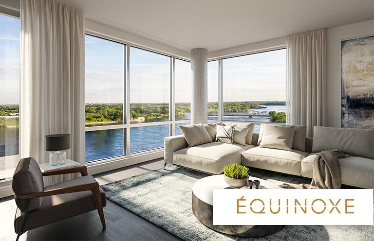 Condo 1 Chambre de luxe a louer à Laval a Collection Equinoxe - Levesque - Photo 02 - TrouveUnAppart – L351126
