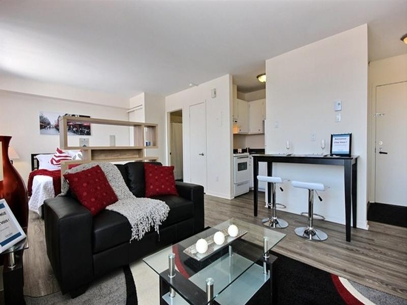 Appartement Studio / Bachelor a louer à La Cité-Limoilou a Le Complexe Montserrat - Photo 12 - TrouveUnAppart – L168591
