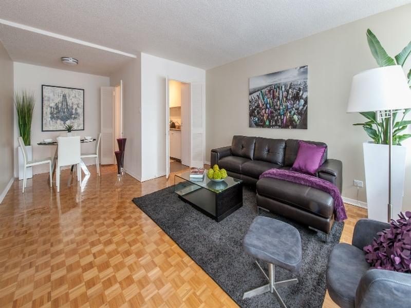 Appartement Studio / Bachelor a louer à Côte-des-Neiges a Rockhill - Photo 04 - TrouveUnAppart – L1122