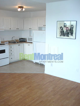 Appartement Studio / Bachelor a louer à Pierrefonds-Roxboro a Marina Centre - Photo 04 - TrouveUnAppart – L582