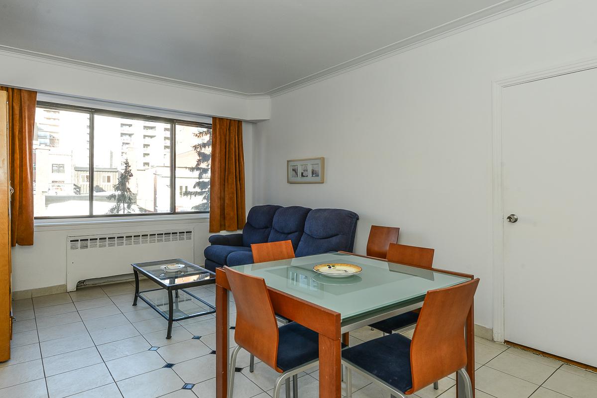 Appartement 1 Chambre meublé a louer à Montréal (Centre-Ville) a Metro Guy concordia - Photo 07 - TrouveUnAppart – L1725