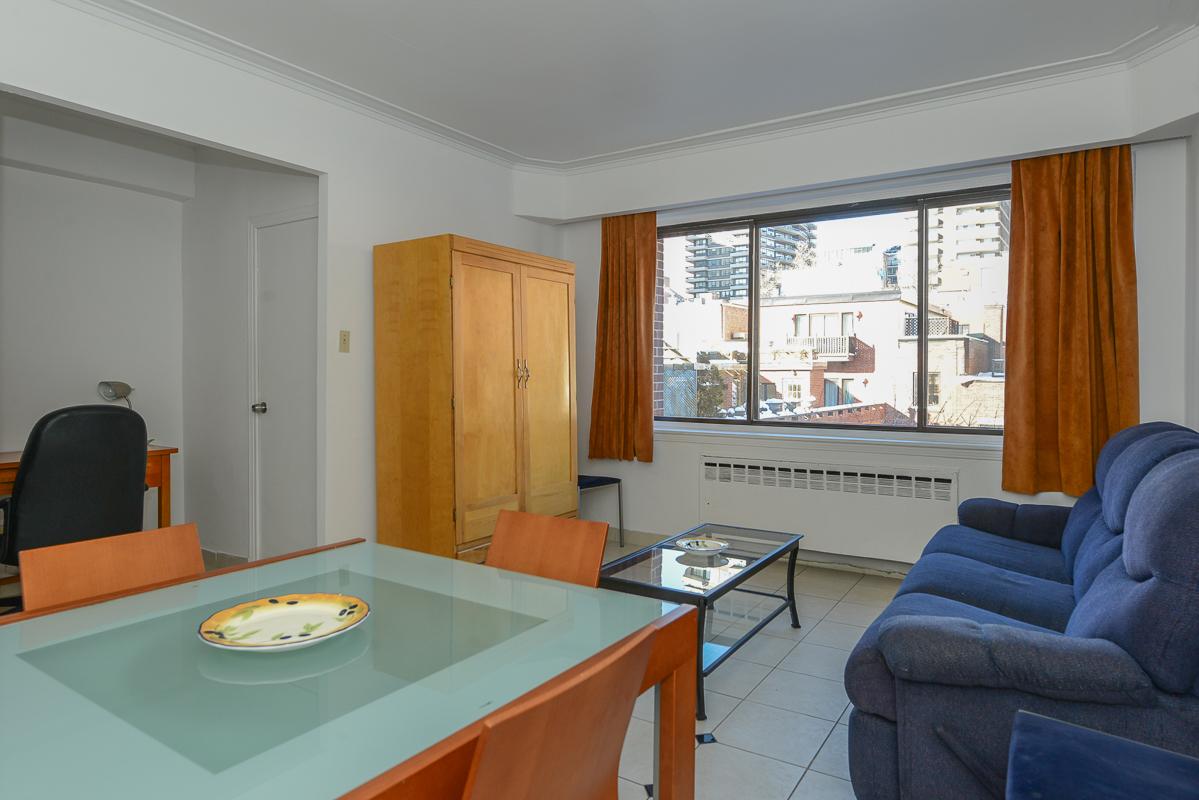 Appartement 1 Chambre meublé a louer à Montréal (Centre-Ville) a Metro Guy concordia - Photo 08 - TrouveUnAppart – L1725