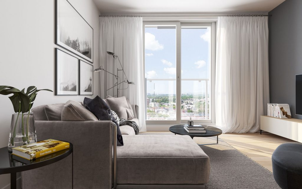 Condo 2 Chambres de luxe a louer à Ahuntsic-Cartierville a Voltige - Photo 02 - TrouveUnAppart – L351246