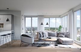 Condo 2 Chambres de luxe a louer à Ahuntsic-Cartierville a Voltige - Photo 01 - TrouveUnAppart – L351246