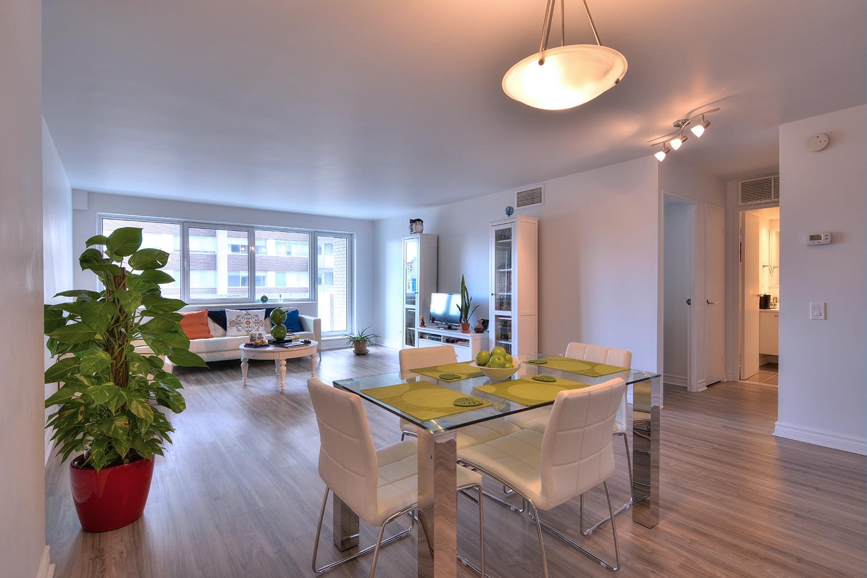 Appartement Studio / Bachelor de luxe a louer à Montréal (Centre-Ville) a Le Parc - Photo 02 - TrouveUnAppart – L2099