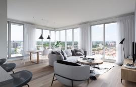 Condo 2 Chambres de luxe a louer à Ahuntsic-Cartierville a Voltige - Photo 01 - TrouveUnAppart – L302637