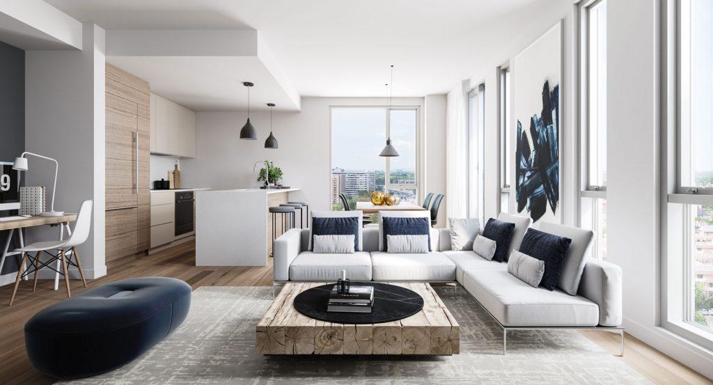 Condo 2 Chambres de luxe a louer à Ahuntsic-Cartierville a Voltige - Photo 05 - TrouveUnAppart – L302637