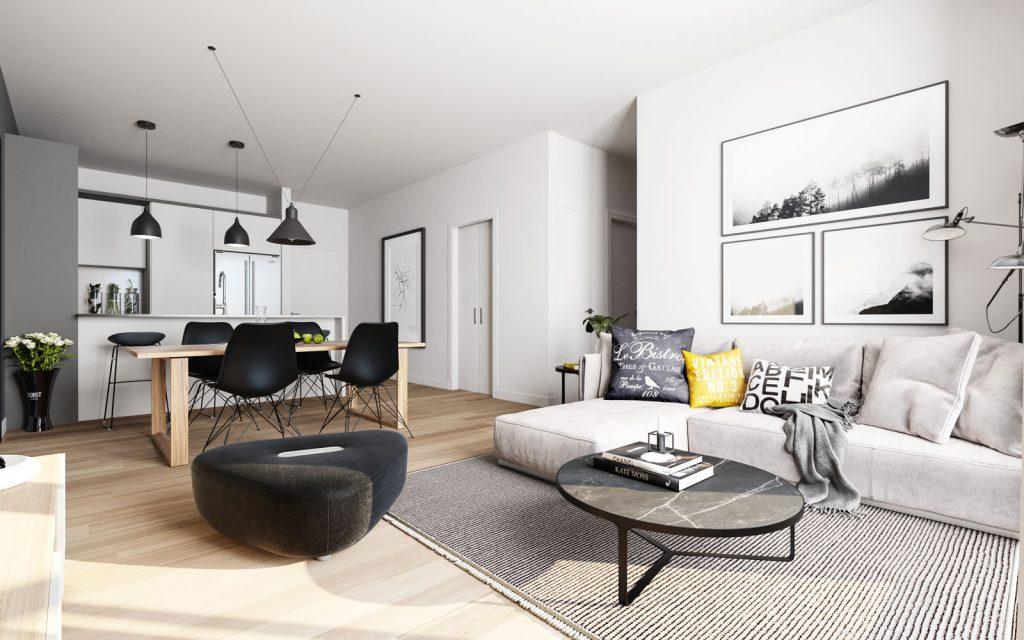 Condo 2 Chambres de luxe a louer à Ahuntsic-Cartierville a Voltige - Photo 06 - TrouveUnAppart – L302637